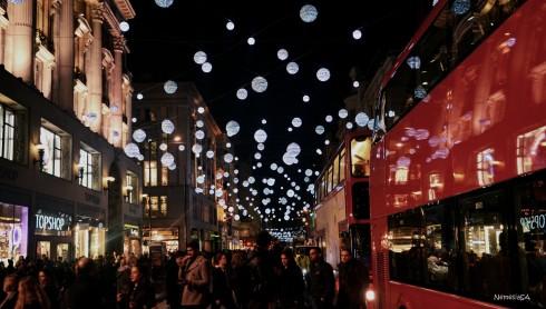 December in London